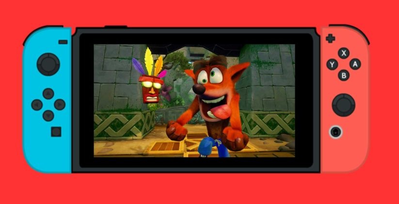 Crash Bandicoot sur Switch