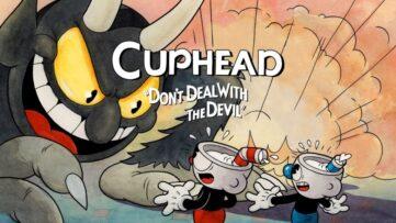 Jeu Cuphead sur Nintendo Switch : artwork du jeu