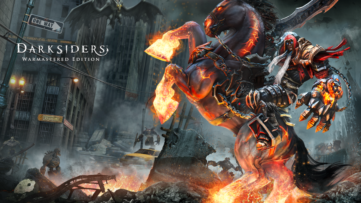 Jeu Darksiders Warmaster Edition sur Nintendo Switch : artwork du jeu