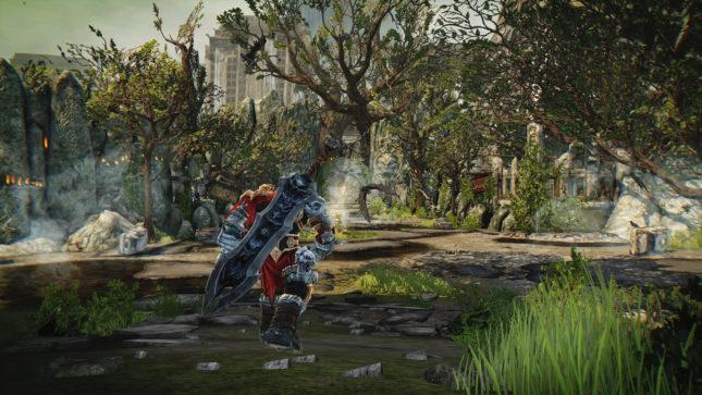 Jeu Darksiders Warmaster Edition sur Nintendo Switch : les environnements sont assez variés