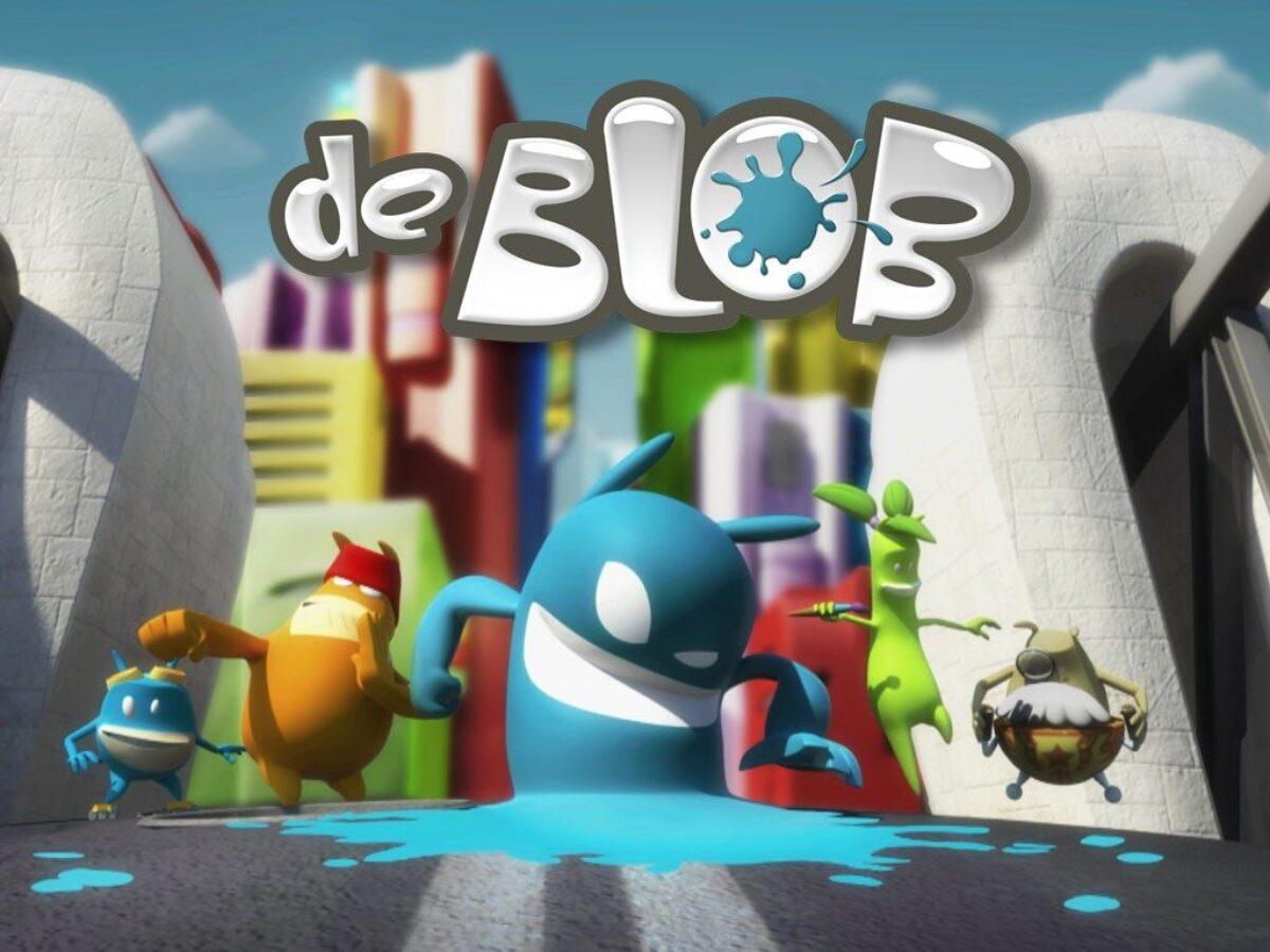 Image du jeu De Blob sur Nintendo Switch : artwork