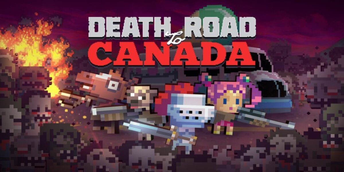 Jeu Death Road to Canada sur Nintendo Switch : cover