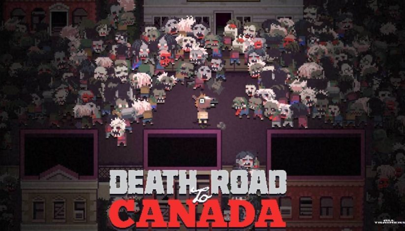 Jeu Death Road To Canada sur Nintendo Switch : ecran titre