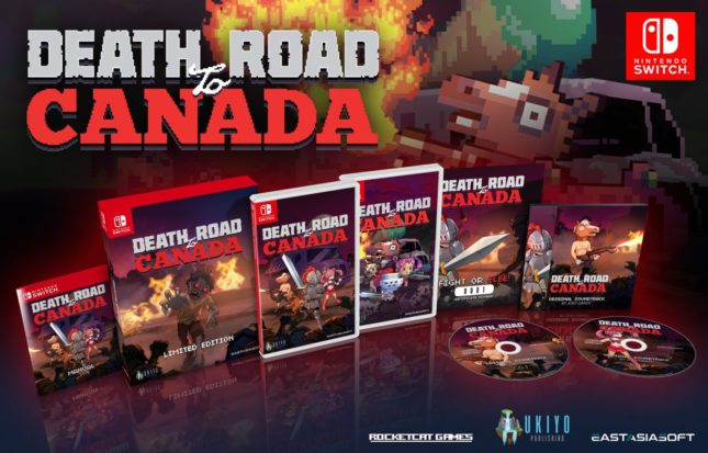 Death Road to Canada en version physique sur Nintendo Switch : édition limitée collector