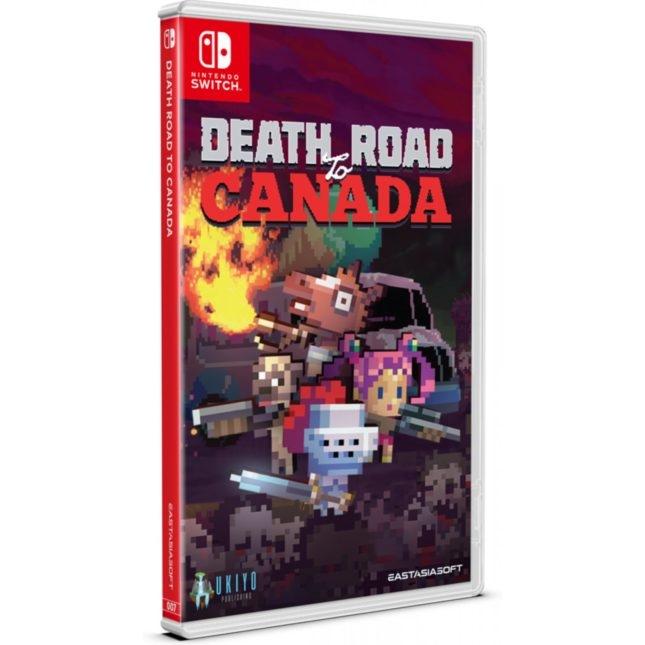 Death Road to Canada en version physique sur Nintendo Switch : édition standard