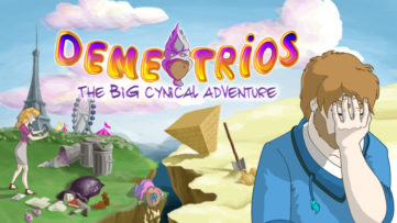 Jeu Demetrios sur Nintendo Switch : artwork du jeu