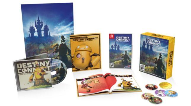 Version physique en édition limitée de Destiny Connect: Tick-Tock Travelers sur Nintendo Switch