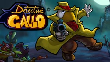 Jeu Detective Gallo sur Nintendo Switch : artwork du jeu