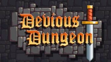 Jeu Devious Dungeon sur Nintendo Switch : écran titre