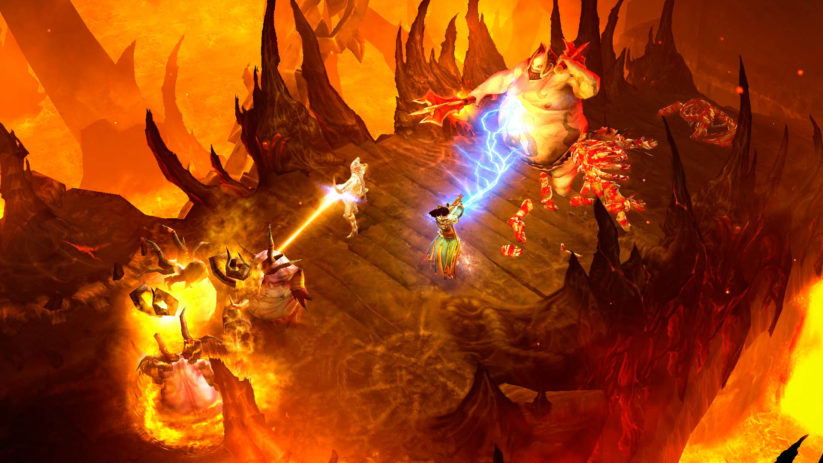 Jeu Diablo 3 sur Nintendo Switch : screenshot