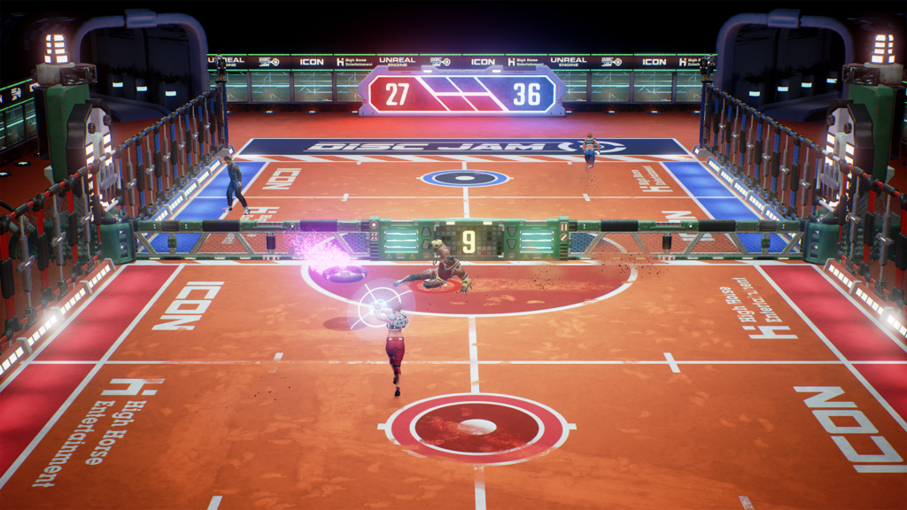 Jeu Disc Jam sur Nintendo Switch : screenshot 6