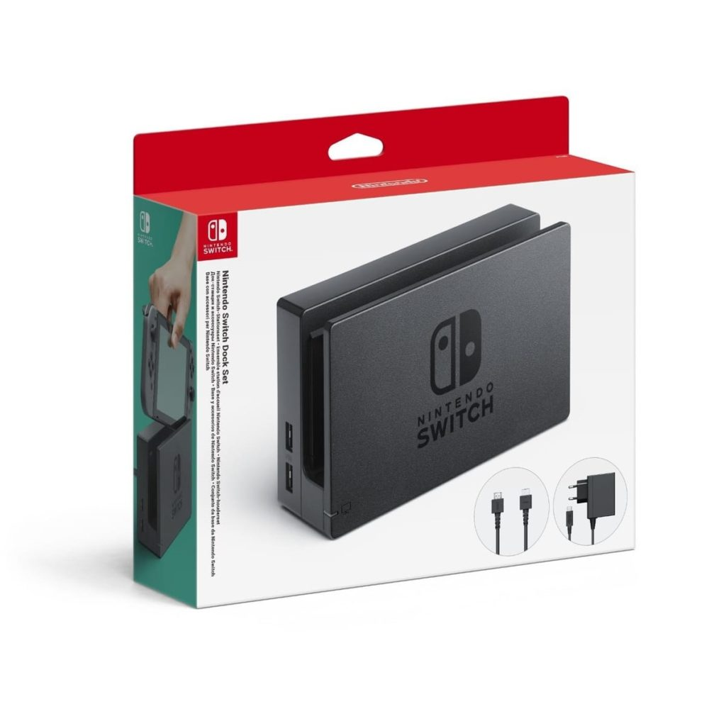 Station d'accueil (dock set) Nintendo Switch