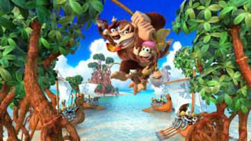 Jeu Donkey Kong Country Tropical Freeze sur Nintendo Switch : Artwork de présentation