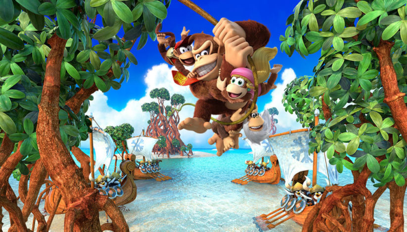 Jeu Donkey Kong Country Tropical Freeze sur Nintendo Switch : Artwork de présentation