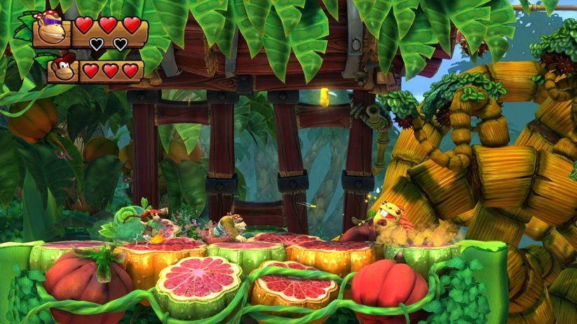 Jeu Donkey Kong Country Tropical Freeze sur Nintendo Switch : Funky dans les fruits juteux