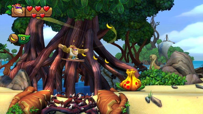 Jeu Donkey Kong Country Tropical Freeze sur Nintendo Switch : Funky surf dans la jungle