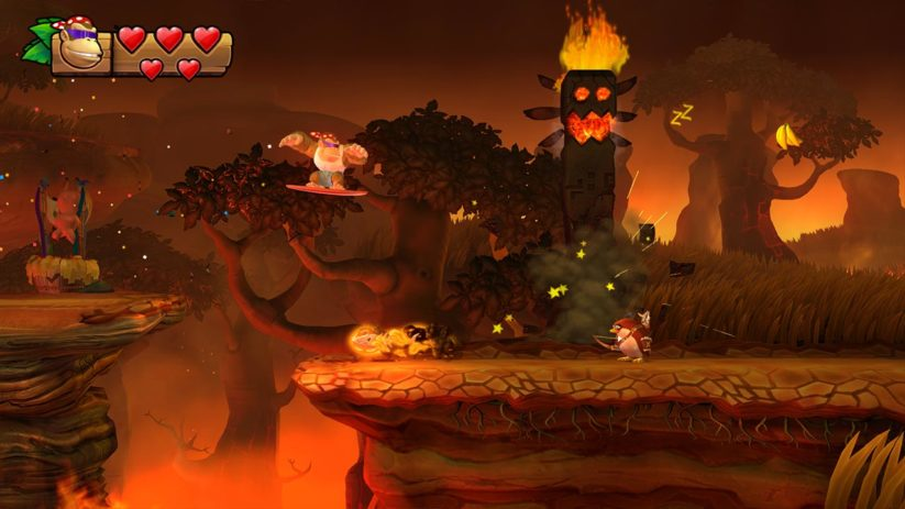 Jeu Donkey Kong Country Tropical Freeze sur Nintendo Switch : Funky dans la Savane Ensoleillée