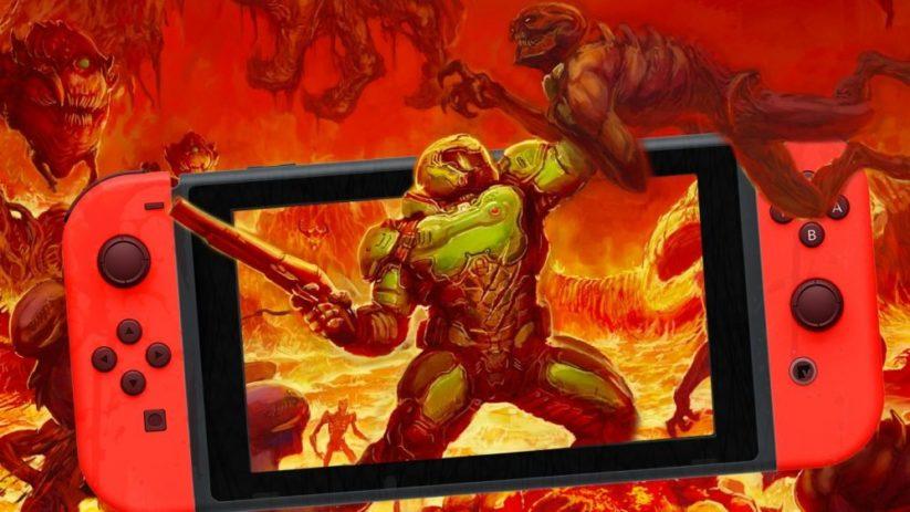 Jeu Doom sur Nintendo Switch : l'arrivée d'un jeu mature sur la petite hybride