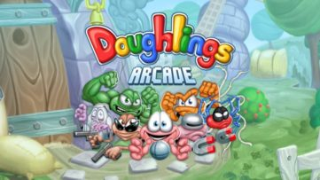 Jeu Doughlings : Arcade sur Nintendo Switch : artwork du jeu