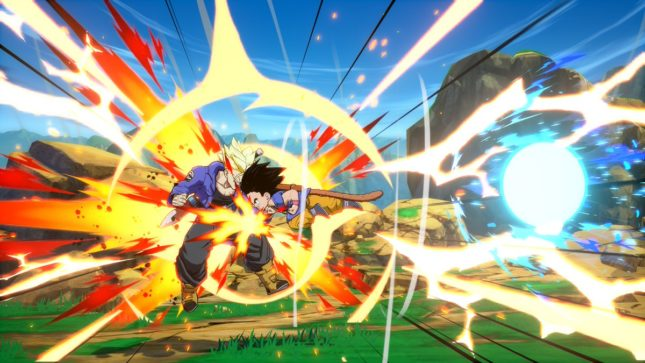 Son Gokû (Kakarot) enfant dans Dragon Ball FighterZ sur Nintendo Switch : screenshot 5