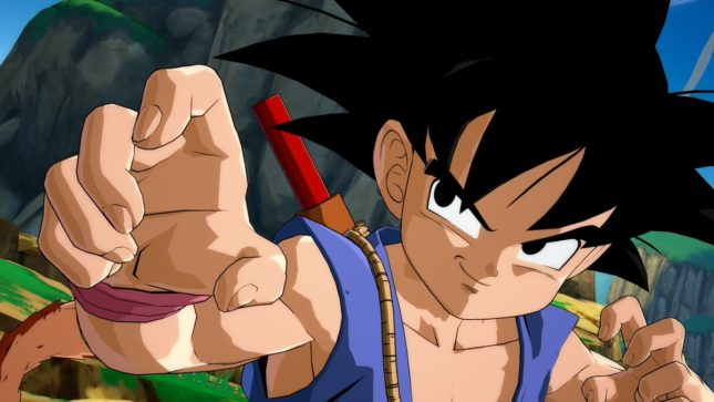 Son Gokû (Kakarot) enfant dans Dragon Ball FighterZ sur Nintendo Switch : screenshot 8