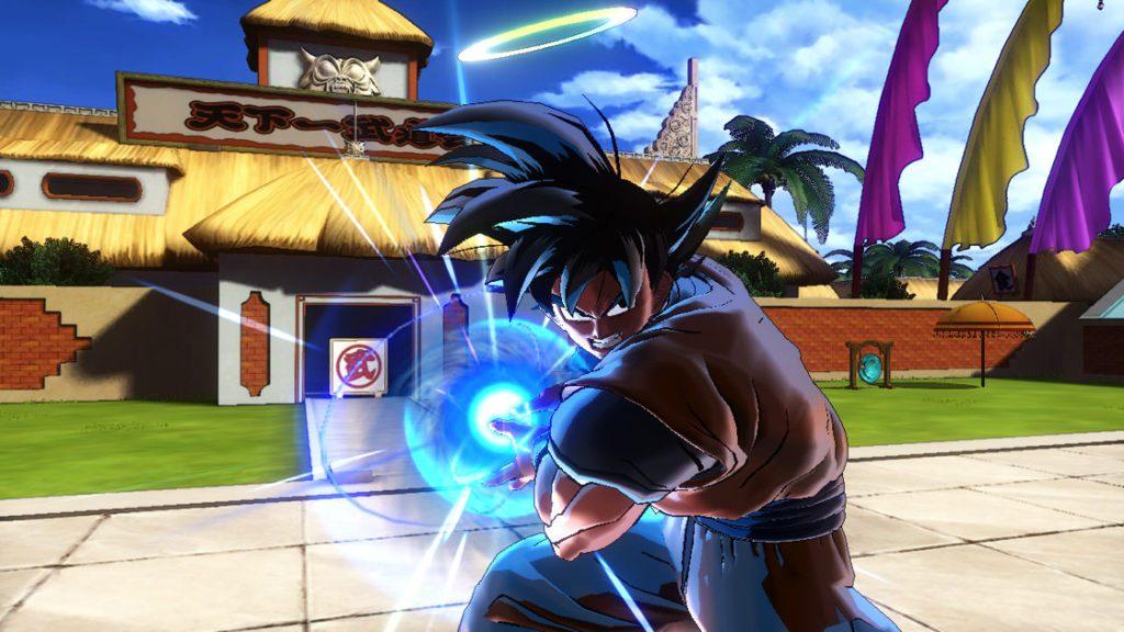Dragon Ball Xenoverse 2 : Sangoku lance son Kaméhaméha