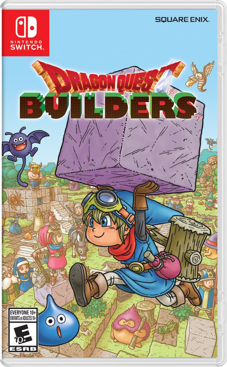 Dragon Quest Builders : boxart américain