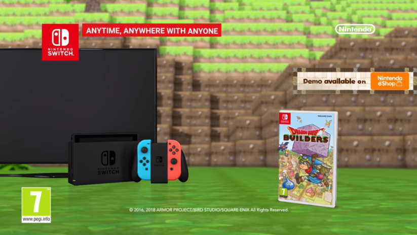 Dragon Quest Builers sur Nintendo Switch