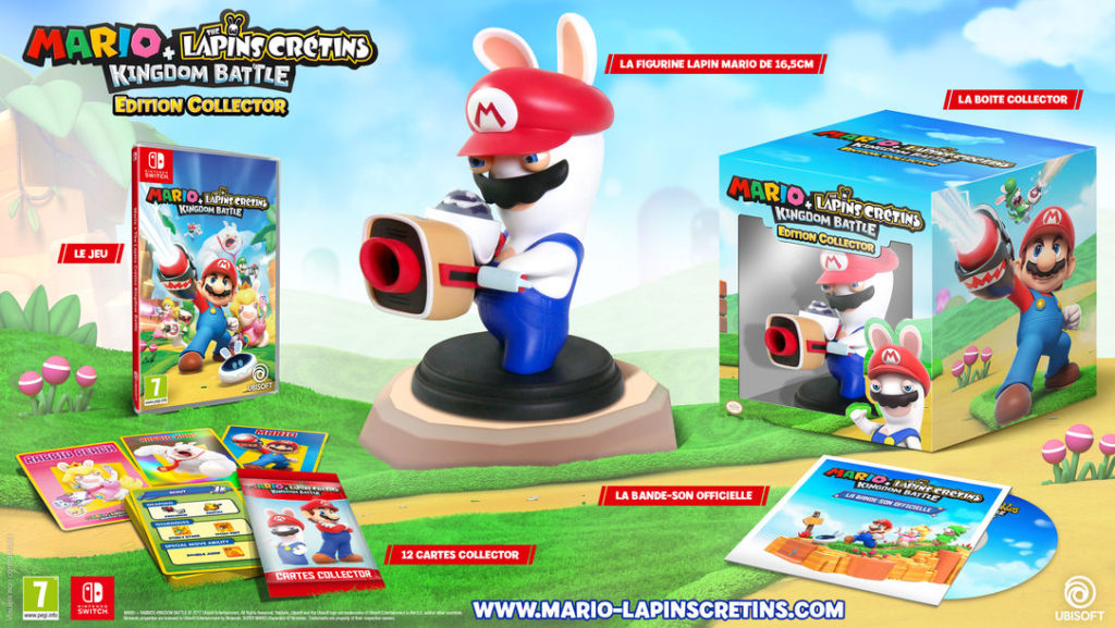 Édition collector Mario + The Lapins Crétins Kingdom Battle