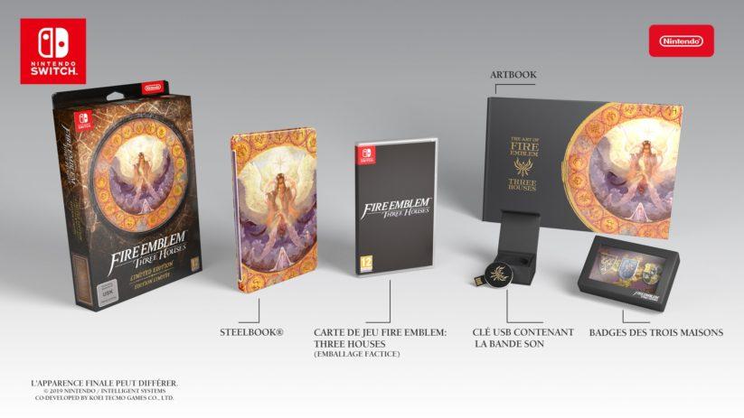 Fire Emblem: Three Houses en édition limitée