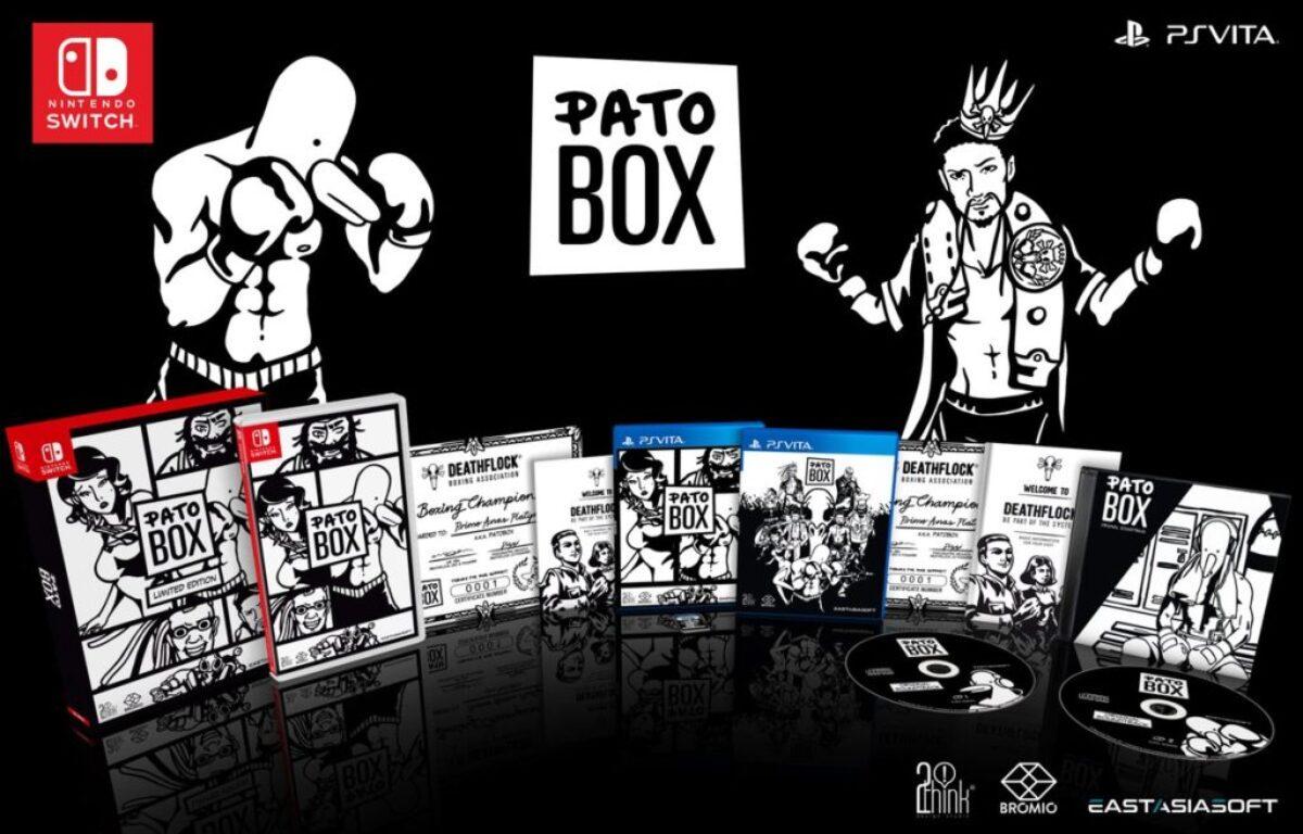 Une édition limitée Pato Box en version physique arrive en précommande