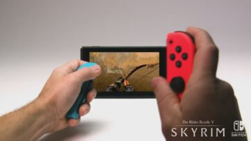 The Elder Scrolls V Skyrim sur Switch
