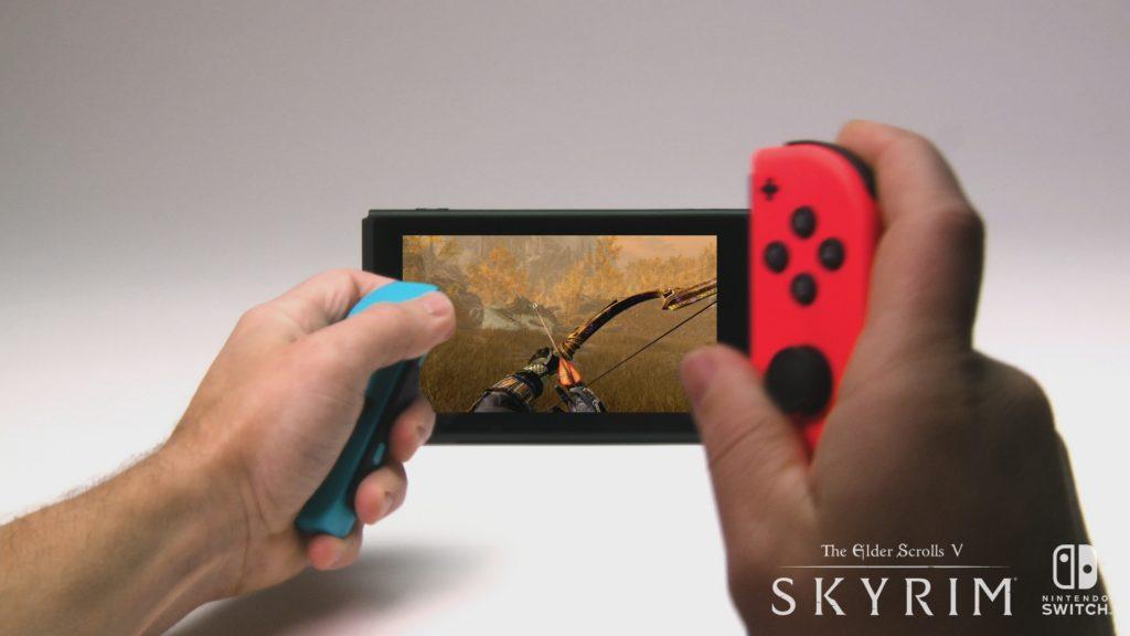 The Elder Scrolls V Skyrim sur Switch