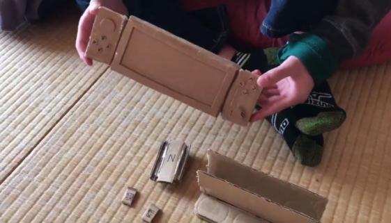 Sa maman ne voulait pas lui acheter la Nintendo Switch alors il a fait ça !