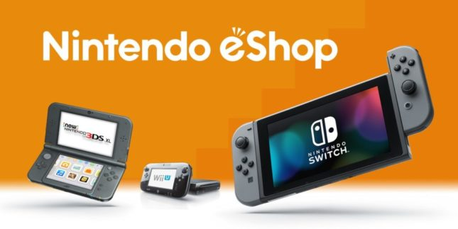 La boutique eShop Nintendo Switch