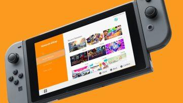 Image du Nintendo eShop sur la Nintendo Switch