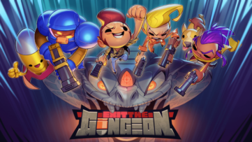 Jeu Exit The Gungeon sur Nintendo Switch : artwork du jeu