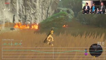 L'explication des chutes de framerate en mode TV pour Zelda : Breath of the Wild
