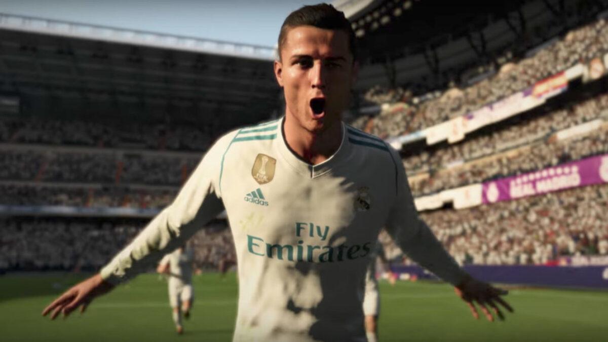 Fifa 18 sur Nintendo Switch : Cristiano Ronaldo