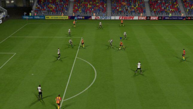 Image du jeu Fifa 18 sur Nintendo Switch : pelouse
