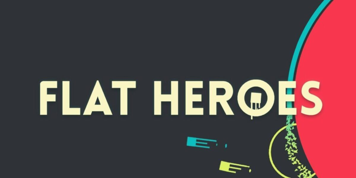 Jeu Flat Heroes sur Nintendo Switch : artwork du jeu