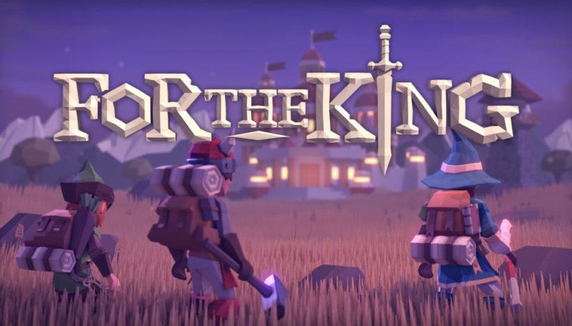 Jeu For The King sur Nintendo Switch : écran titre