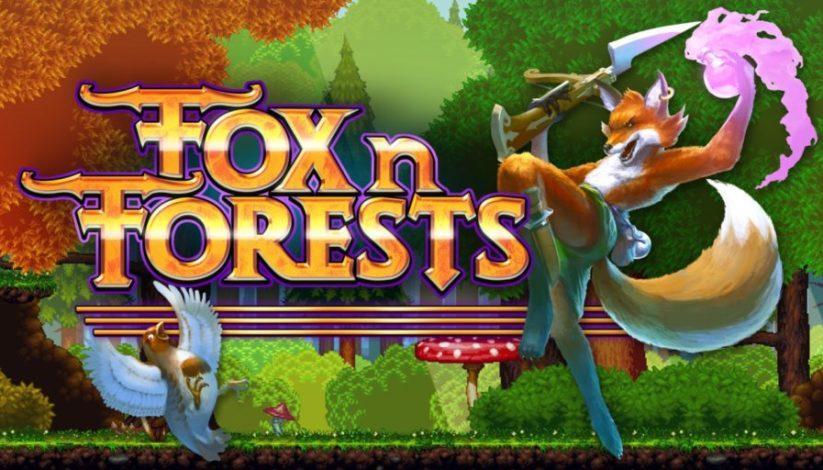 Fox n Forests sort aujourd'hui sur Nintendo Switch