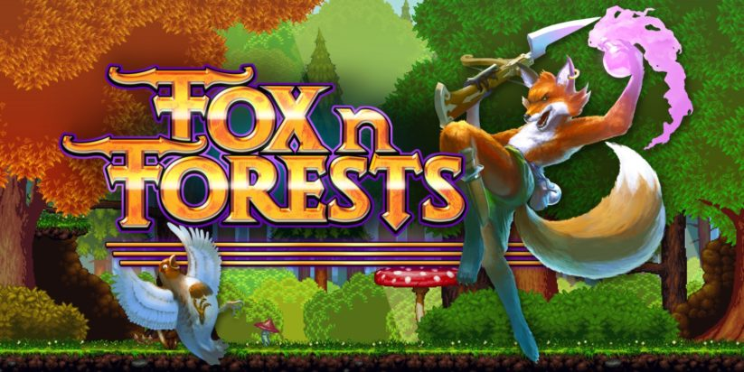 Fox n Forests sort aujourd'hui sur Nintendo Switch