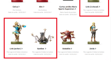 Fuite chez Nintendo France : 3 amiibos dévoilent la date de sortie de The Legend of Zelda : Breath of the Wild & la Switch