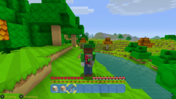 1 heure de gameplay sur Minecraft: Nintendo Switch Edition