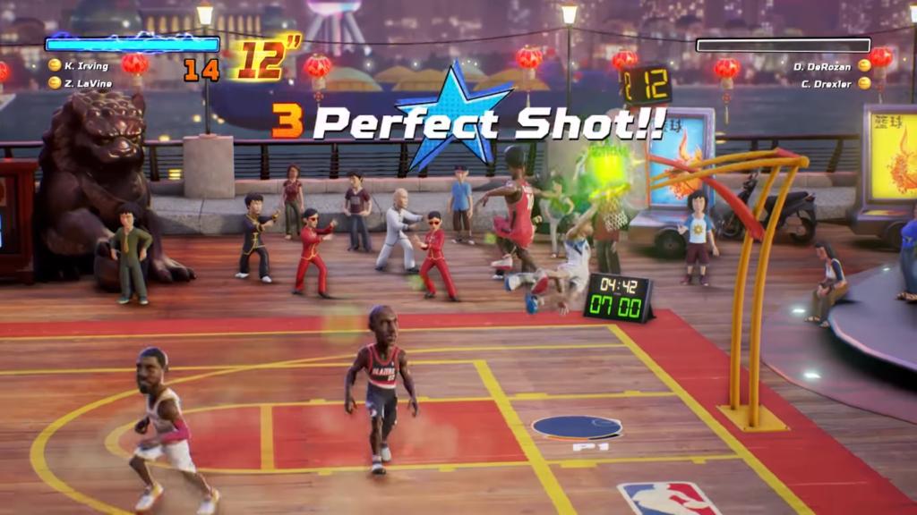 PlayStation nous offre une vidéo du gameplay de NBA Playgrounds attendu pour le mois de mai