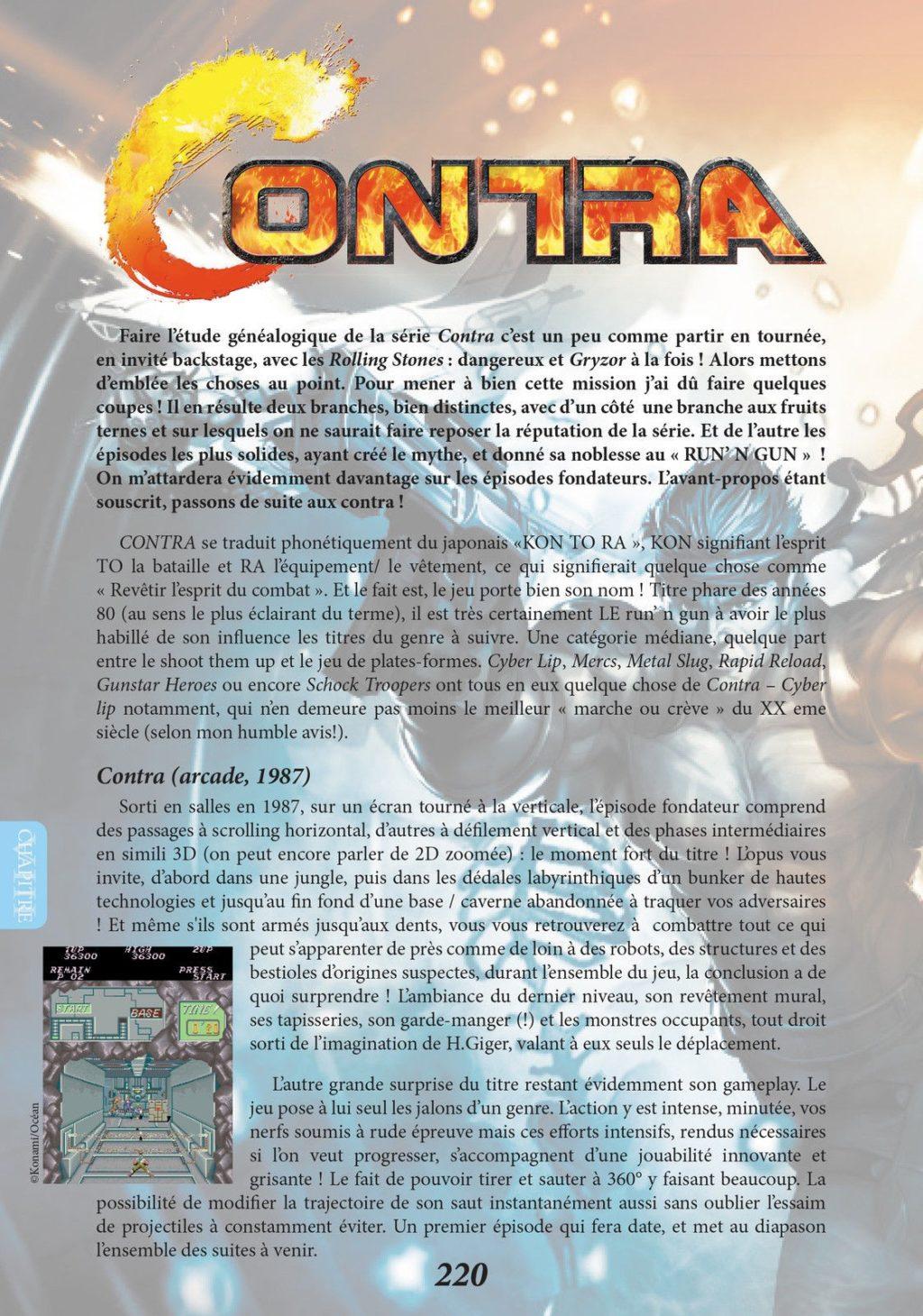 Games history – histoire du jeu de plateformes : Contra