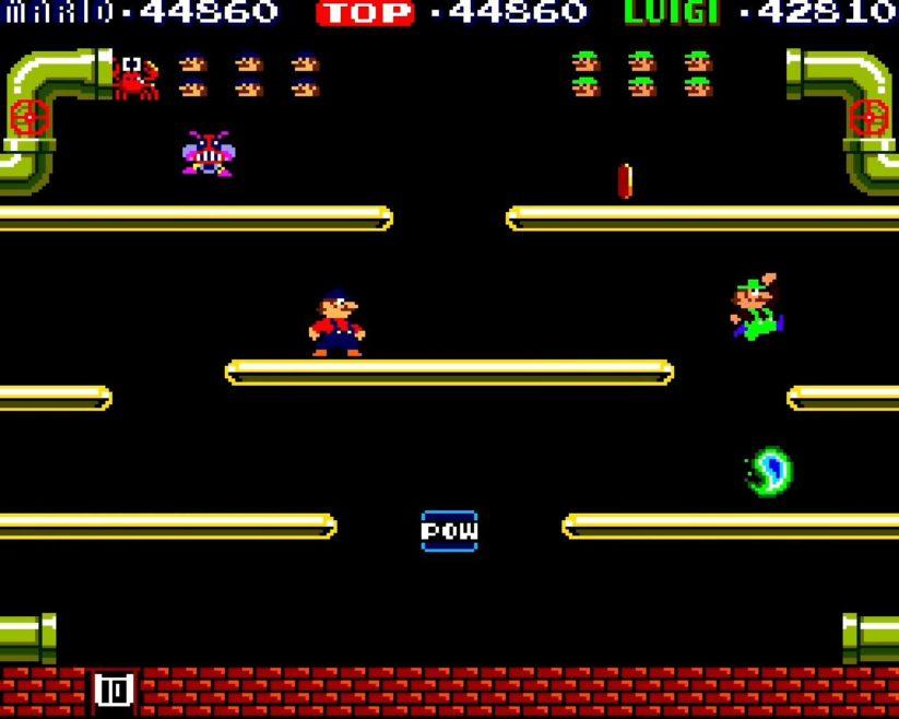 Games history – histoire du jeu de plateformes : Mario Bros. (1983)