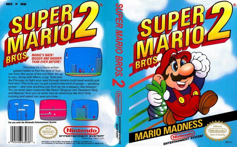 Games history – histoire du jeu de plateformes : Super Mario Bros. 2 – Mario Madness (1988)